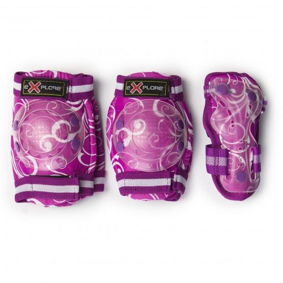 Набор защиты для коленей, локтей и запястий COOPER MIX