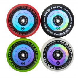 Колеса для  трюковых самокатов SCOOTER WHEEL 100 + abec литой пластик цветные