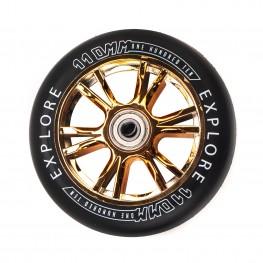 Колеса для  трюковых самокатов SCOOTER WHEEL 110 GOLD