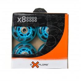 Колеса для роликов WHEELS 4 MIX (с подшипником)